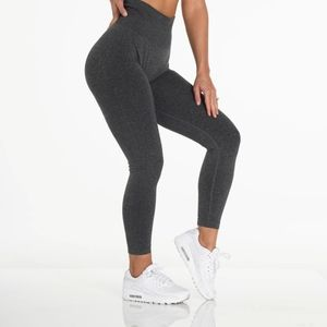 NWT Black Speckled NVGTN Seamless Leggings  - XL